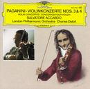 パガニーニ:ヴァイオリン協奏曲第3番、第4番/Salvatore Accardo, London Philharmonic Orchestra, Charles Dutoit