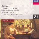 Brahms: Piano Trio Nos. 1-3/Cello Sonata No.2/Scherzo (2 CDs)/Josef Suk, János Starker, Julius Katchen