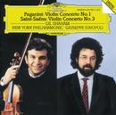 パガニーニ/サン=サーンス:ヴァイオリン協奏曲/New York Philharmonic Orchestra, Giuseppe Sinopoli