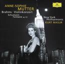 ブラームス:ヴァイオリン協奏曲、他 (1997年 ライヴ・イン・ニューヨーク)/Anne-Sophie Mutter, New York Philharmonic Orchestra, Kurt Masur