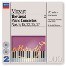 Mozart: The Great Piano Concertos Nos. 9, 15, 22, 25 & 27 (2 CDs)/Alfred Brendel, Academy of St. Martin in the Fields, Sir Neville Marriner