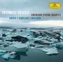 <親しい声/グリーグ&シベリウス:弦楽四重奏曲>/Emerson String Quartet