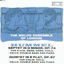 Hummel: Septet; Quintet/The Melos Ensemble Of London