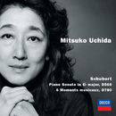 Schubert: Piano Sonata in E Flat Major; 6 Moments Musicaux/Mitsuko Uchida