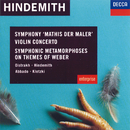Hindemith: Violin Concerto; Symphonic Metamorphoses on Themes of Weber etc./David Oistrakh, London Symphony Orchestra, Paul Hindemith, L'Orchestre de la Suisse Romande, Claudio Abbado, Paul Kletzki