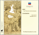 Berg: Four Pieces For Clarinet & Piano; Schoenberg: Suite; Serenade/The Melos Ensemble Of London