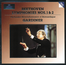Beethoven: Symphonies Nos. 1 & 2/Orchestre Révolutionnaire et Romantique, John Eliot Gardiner