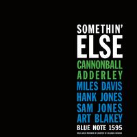 Somethin' Else /Cannonball Adderley
