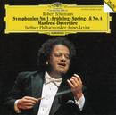 """Schumann: Symphonies No.1 In B Flat Major, Op. 38 """"Spring"""" & No. 4 In D Minor, Op. 120; Manfred Overture/Berliner Philharmoniker, James Levine"""