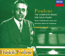 Poulenc: The Complete Music for Solo Piano (3 CDs)/Pascal Rogé