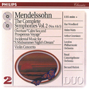 Mendelssohn: The Symphonies Vol.2; Violin Concerto; A Midsummer Night's Dream/London Philharmonic Orchestra, Royal Concertgebouw Orchestra, Bernard Haitink