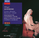 Allegri: Miserere, etc./Westminster Cathedral Choir, The Choir of King's College, Cambridge, Stephen Cleobury