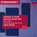 Stravinsky: Symphony of Psalms; Mass / Poulenc: Easter Motets/Choir of Christ Church Cathedral, Oxford, The Philip Jones Brass Ensemble, London Sinfonietta, Simon Preston