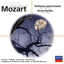 "Mozart: Sinfonia concertante / Serenade Nr.10 ""Gran Partita""/Sir Neville Marriner"