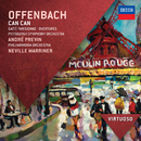 Offenbach: Can Can; Gaite Parisienne; Overtures/Philharmonia Orchestra, Sir Neville Marriner, Pittsburgh Symphony Orchestra, André Previn
