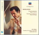 Mendelssohn: String Symphonies Nos.9, 10 & 12; Concerto in A minor for Piano & Strings/John Ogdon, Academy of St. Martin in the Fields, Sir Neville Marriner