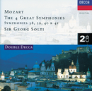 Mozart: Symphonies Nos. 38-41(2 CDs)/Chicago Symphony Orchestra, Chamber Orchestra of Europe, Sir Georg Solti