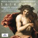 テレマン:弦楽協奏曲集/Musica Antiqua Köln, Reinhard Goebel