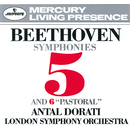 Beethoven: Symphonies Nos. 5 & 6/The Creatures of Prometheus Overture/London Symphony Orchestra, Antal Doráti