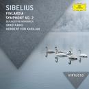 シベリウス:フィンランディア、交響曲第2番/Berliner Philharmoniker, Okku Kamu, Herbert von Karajan