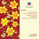 Britten: Partsongs; Hymn To The Virgin; Missa Brevis/The Elizabethan Singers, Louis Halsey, George Malcolm
