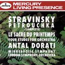 Stravinsky: Petrouchka; The Rite of Spring; 4 Etudes/London Symphony Orchestra, Minneapolis Symphony Orchestra, Antal Doráti