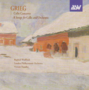 Grieg: Cello Concerto; 8 Songs arr. cello & orchestra/Raphael Wallfisch, London Philharmonic Orchestra, Vernon Handley