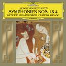 Beethoven: Symphonies Nos. 1 In C, Op.21 & 4 In B Flat, Op.60 (Live)/Wiener Philharmoniker, Claudio Abbado