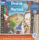 Dvorak, Martinu: Piano Quintets/The Lindsays, Peter Frankl