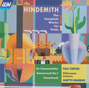 Hindemith: The Complete Works for Viola Vol.1/Paul Cortese, The Philharmonia, Martyn Brabbins