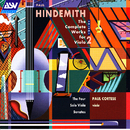 Hindemith: The Complete Works for Viola, Vol. 2: The 4 Solo Viola Sonatas/Paul Cortese