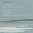 Mozart: Clarinet Quintet; Quintet for piano and wind instruments/Israela Margalit, Stanley Drucker, Essex Quartet
