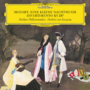 """Mozart: Serenade In G, K:525 """"Eine kleine Nachtmusik""""; Divertimento No.15 In B Flat Major, K.287/Berliner Philharmoniker, Herbert von Karajan"""