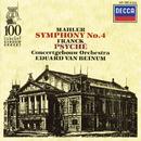 Mahler: Symphony No.4 / Franck: Psyché/Margaret Ritchie, Royal Concertgebouw Orchestra, Eduard van Beinum