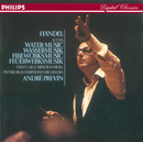 Handel: Water Music; Royal Fireworks Music; Overture in D minor/Pittsburgh Symphony Orchestra, André Previn