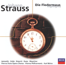 J.シュトラウス:「こうもり」ハイライト/Gundula Janowitz, Renate Holm, Wolfgang Windgassen, Eberhard Wächter, Karl Böhm, Wiener Philharmoniker