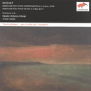 Mozart: Serenades Nos.11 & 12 for wind instruments/Chamber Orchestra of Europe, Wind Soloists, Alexander Schneider