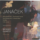Janacek: String Quartets Nos.1 & 2; Pohadka; Violin Sonata/The Brodsky Quartet, Martin Cousin
