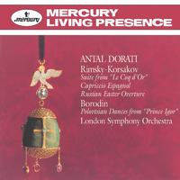 Rimsky-Korsakov: Le Coq D'Or; Russian Easter Overture/London Symphony Orchestra, Antal Dorati