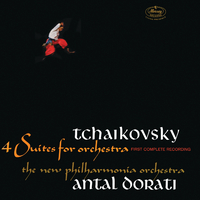 Tchaikovsky: 4 Suites For Orchestra/New Philharmonia Orchestra, Antal Dorati