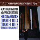 ショスタコーヴィチ:弦楽四重奏曲 第4・8番/Borodin Quartet