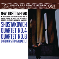 Shostakovich: Quartet No.4; Quartet No.8/Borodin Quartet