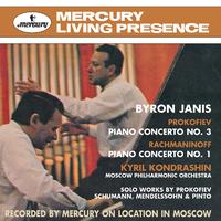 Prokofiev: Piano Concerto No.3; Rachmaninov: Piano Concerto No.1/Byron Janis, Moscow Philharmonic Orchestra, Kirill Kondrashin