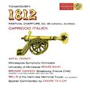 チャイコフスキー:大序曲<1812年>、イタリア奇想曲/Minneapolis Symphony Orchestra, Antal Doráti