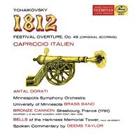 Tchaikovsky: 1812 Festival Overture; Capriccio Italien/Minneapolis Symphony Orchestra, Antal Dorati