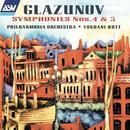 Glazunov: Symphonies Nos. 4 & 5/Philharmonia Orchestra, Yondani Butt