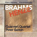 Brahms & Henze: Piano Quintets/Guarneri Quartet, Peter Serkin