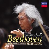 ベートーヴェン:交響曲第2番&第8番/小澤征爾(Seiji Ozawa)