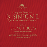 "Beethoven: Symphony No.9, Overtures ""Egmont"" & ""Leonore III""/Berliner Philharmoniker, Ferenc Fricsay"