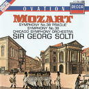 Mozart: Symphonies Nos. 38 & 39/Chicago Symphony Orchestra, Sir Georg Solti